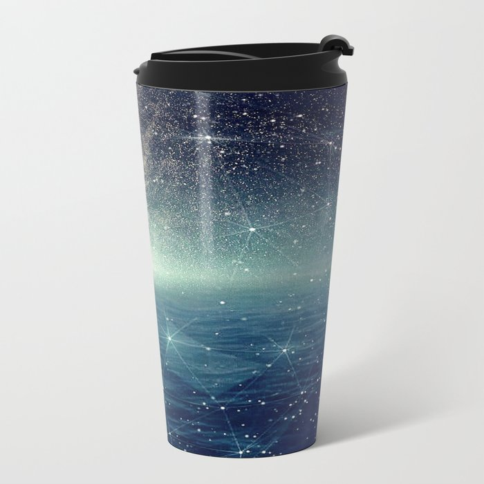 ...The Stars, Look How They Shine For You Metal Travel Mug