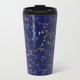 Floral Pattern - Night Travel Mug