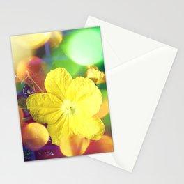 Secret Garden   Cucumber flower Stationery Cards