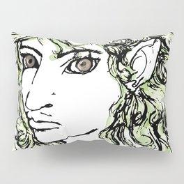 Female elf profile 1 Pillow Sham