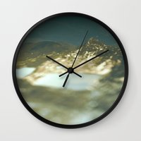 paradise Wall Clocks featuring Paradise by DejaReve