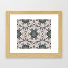 Aesthetics: abstract pattern Framed Art Print