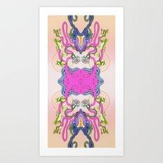 The Frog Tree Art Print