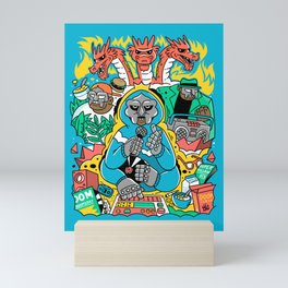 MF DOOM & Friends Mini Art Print