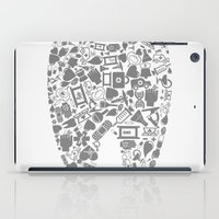 tooth iPad Cases featuring Tooth by aleksander1