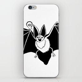 Mr. Bat Loves You iPhone Skin