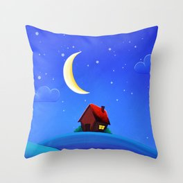 'Baby Bed 1'  Throw Pillow