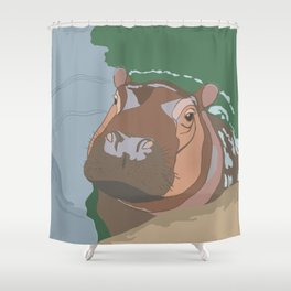 'Lil Fiona Shower Curtain