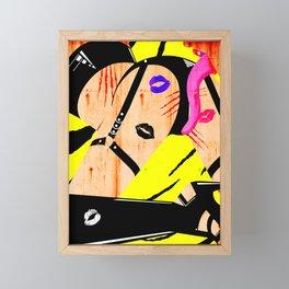 Arson Fire Framed Mini Art Print