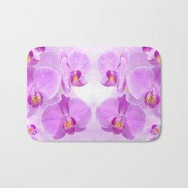 Purple Orchids Bath Mat