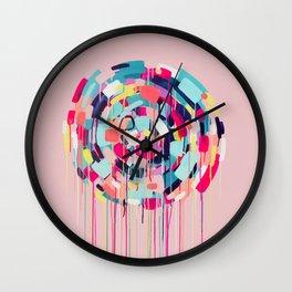 Odessa - Abstract painting #society6 Wall Clock