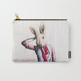 """Rabbit in her """"Let Loose"""" stage Carry-All Pouch"""