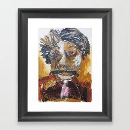 My dentist Framed Art Print