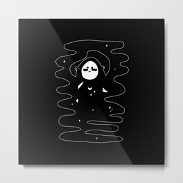 ▴ mask ▴ Metal Print