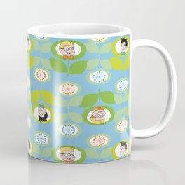 mabo & jimmy garden - blue Coffee Mug