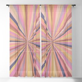 Radiate Positivity Sheer Curtain