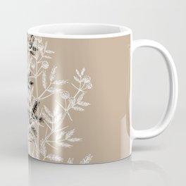 Nature leaves minimal Coffee Mug