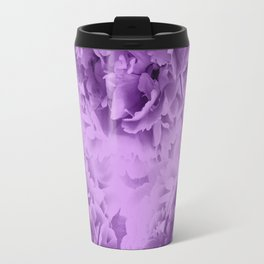 Purple Peonies Dream #1 #floral #decor #art #society6 Travel Mug