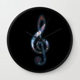 Cosmic Music Wall Clock