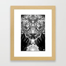 From Where its Roots Run Framed Art Print