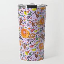 Cute Tropical Pattern Travel Mug