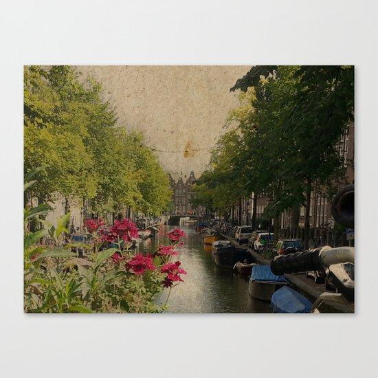 Amsterdam mon amour Canvas Print