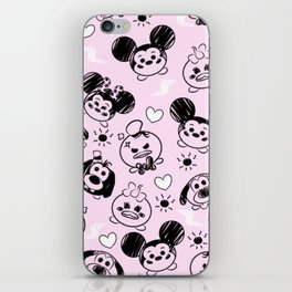 Scribble Tsums iPhone Skin