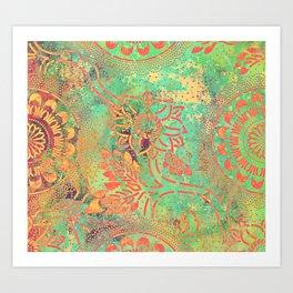 Boheme Atmosphere Art Print