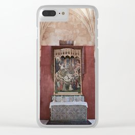 Conjoined Faiths (Mosque-Cathedral of Cordoba) Clear iPhone Case