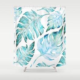 love tropical Shower Curtain
