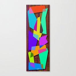 Sharp Shapes texture Canvas Print