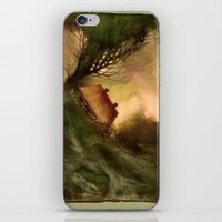 wind iPhone & iPod Skins featuring Wind by Iris V.