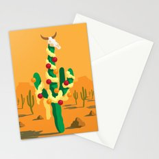 Merry Cactus Stationery Cards