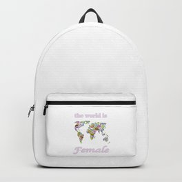 The world is female 2 . Backpack