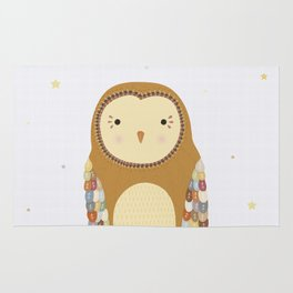 Autumn the Owl Rug