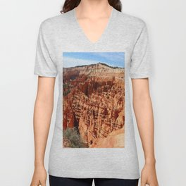 Bryce Canyon View At Sunset Point Unisex V-Neck