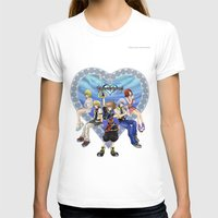 kingdom hearts T-shirts featuring Kingdom Hearts by clayscence