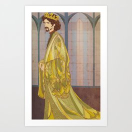 Richard II Art Print