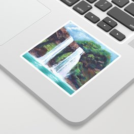 Wailua Falls Sticker