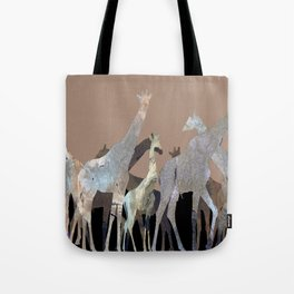 Girafes Tote Bag