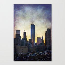 New York City at Sunset Canvas Print