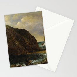 Jasper Francis Cropsey - By the Sea, Lulworth Stationery Cards