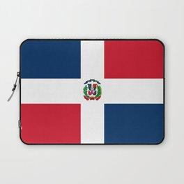 Bandera de la Republica Dominicana Laptop Sleeve