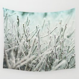 Winter frost Wall Tapestry