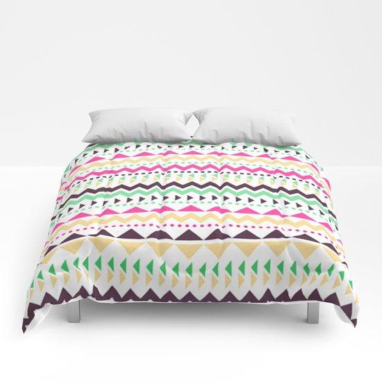 Tribal Pattern 02 Comforters