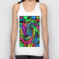 psychedelic Tank Tops featuring Psychedelic by Michael Moriarty Photography