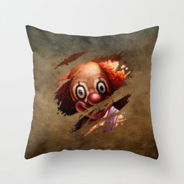 Clown 05 Throw Pillow