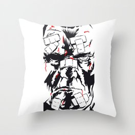 Marv Sin City Throw Pillow