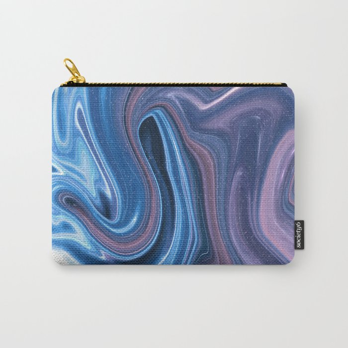 Fluid No. 2 - Waves in Space Carry-All Pouch