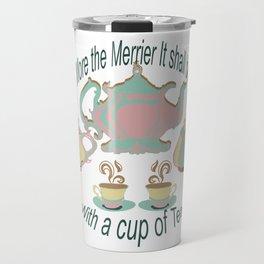 Cup of Tea by Lorloves Design Travel Mug